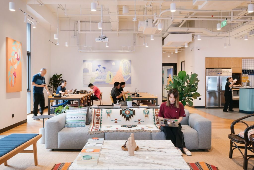 Genuine Capitalism and Coworking Spaces