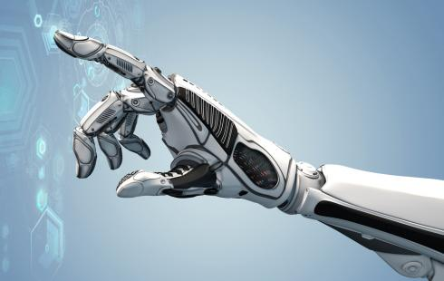use of his shoulders as upper arms, this was created conceivable by employing the future robotics innovation.